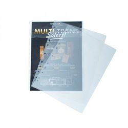Laminowana folia z euro dziurowaniem, A4, 100 mikronów, 100 sztuk