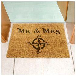 Wycieraczka Mr & Mrs Podróżniccy