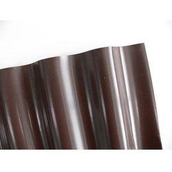 Obrzeża ogrodowe faliste – krawężnik 9x0,20m brązowy