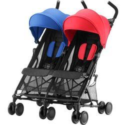 Britax Römer wózek dla rodzeństwa Holiday Double, Red/Blue - BEZPŁATNY ODBIÓR: WROCŁAW!