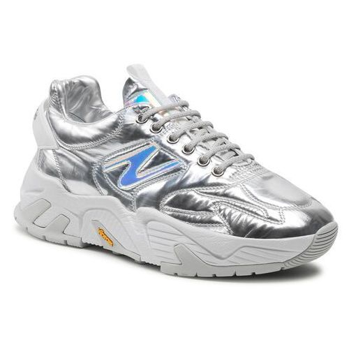 Damskie obuwie sportowe, Sneakersy ICEBERG - Kakkoi 21EID1808A Oleogramma Glass