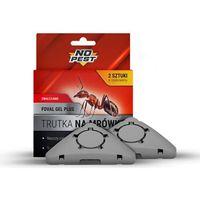 Środki i akcesoria przeciwko owadom, Trutka na mrówki NO PEST Foval Gel Plus. Żel w pułapce z wabikiem 2x5g.