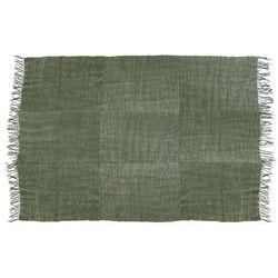 HK Living Lniany dywan w kolorystyce wojskowej zieleni (230x320) TTK3022