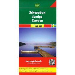 Szwecja Mapa Drogowa 1:600 000