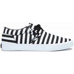 buty SUPRA - Cuba Black/White Stripe (027) rozmiar: 36