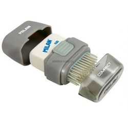 Temperówka pojedyncza z gumką Milan Compact 4703116