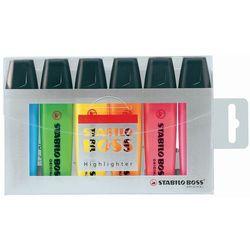 Zakreślacz Boss 70 etui 6 kolorów STABILO
