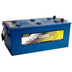 Akumulator GROM Prestige 225Ah 1500A EN LEWY PLUS
