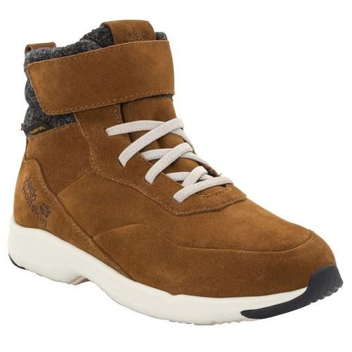 Buty sportowe dla dzieci, Buty sportowe dla dzieci CITY BUG TEXAPORE MID K desert brown / champagne - 35