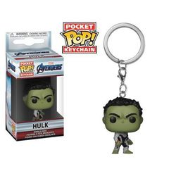 Brelok Funko Hulk - Pop! Keychain Avengers: Koniec gry