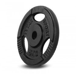 Obciążenie żeliwne kierownica Tytan Sport 5 kg