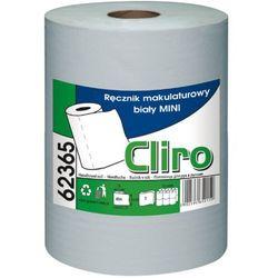 Ręcznik papierowy w roli MINI biały - Cliro Papierowy ręcznik w roli biały Cliro