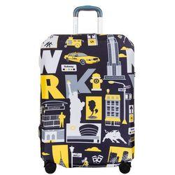 BG Berlin pokrowiec na dużą walizkę / rozmiar L / New York - New York