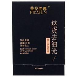 Pilaten Native Blotting Paper chusteczki oczyszczające 100 szt dla kobiet
