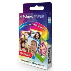 Polaroid Wkład do SNAP/ZIP 20 zdjęć kolorowe ramki - produkt w magazynie - szybka wysyłka!