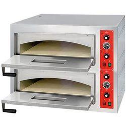 Piec do pizzy dwukomorowy 8x 32cm STALGAST 781024