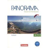 Książki do nauki języka, Panorama A 1.2 Kursbuch - Finster Andrea, Jin Friederike, Paar-Grunbichler Verena (opr. miękka)