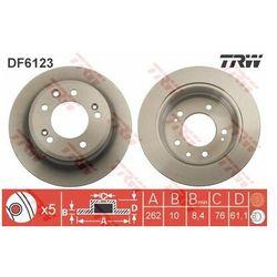 TARCZA HAM TRW DF6123 KIA CEED 1.4CVVT 90KM, 1.6CVVT 125KM 10-, 1.6CRDI 06-