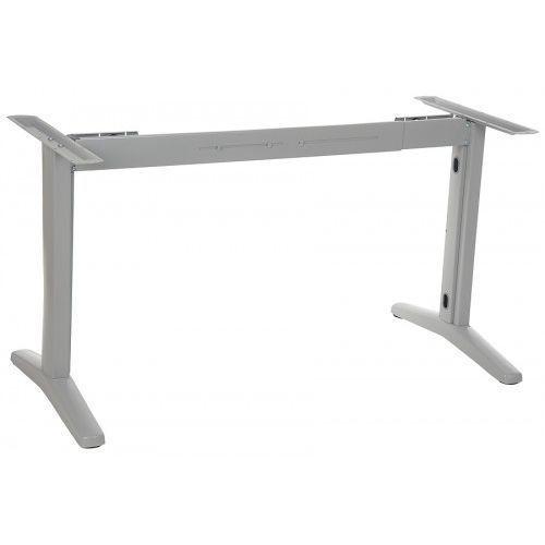 Pozostałe meble biurowe, Stelaż metalowy stołu (biurka) z rozsuwaną belką STT-01, kolor aluminium