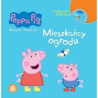 Książki dla dzieci, Świnka Peppa. Bajeczki z książeczki. Mieszkańcy ogrodu (opr. twarda)