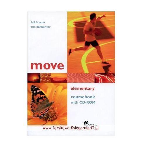 Książki do nauki języka, Move elementary Coursebook with Cd-Rom (opr. broszurowa)