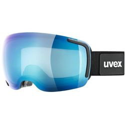 Uvex Big 40 FM Czarny Mirror Blue / Clear 2017-2018 -25 % (-25%)
