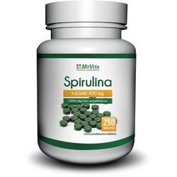 Spirulina 400 tabletek 250mg -PRONESS myvita