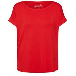 S.Oliver RED LABEL Koszulka 'T-SHIRT KURZARM' czerwony