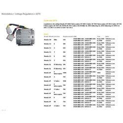 DZE REGULATOR NAPIĘCIA HONDA CX500/650, GL500/650