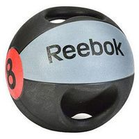 Piłki i skakanki, Piłka lekarska z uchwytem Reebok 8 kg - 8 kg