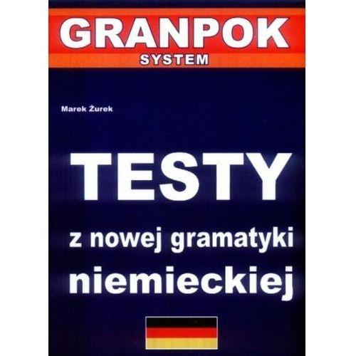 Książki do nauki języka, Testy z nowej gramatyki niemieckiej (opr. broszurowa)