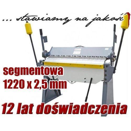 Giętarki, ZAGINARKA GIĘTARKA SEGMENTOWA DO BLACHY MAKTEK 1220mm x 2.5mm EWIMAX promocja (--44%)