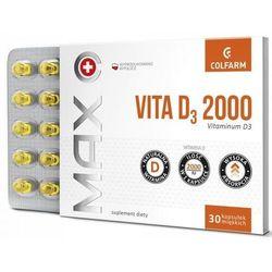 Max Vita D3 2000 x 30 kapsułek miękkich