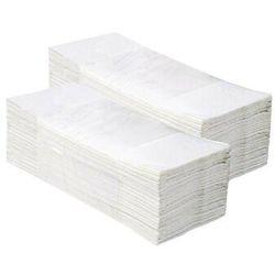 Pojedyncze ręczniki papierowe Merida Economy, 1 warstwa, makulatura bielona - 20 bind