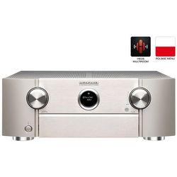 MARANTZ SR6013 SREBRNO-ZŁOTY - amplituner AV o mocy 185W | HEOS | Dolby Atmos | sterowanie głosowe Amazon Alexa | Gwarancja 3-lata
