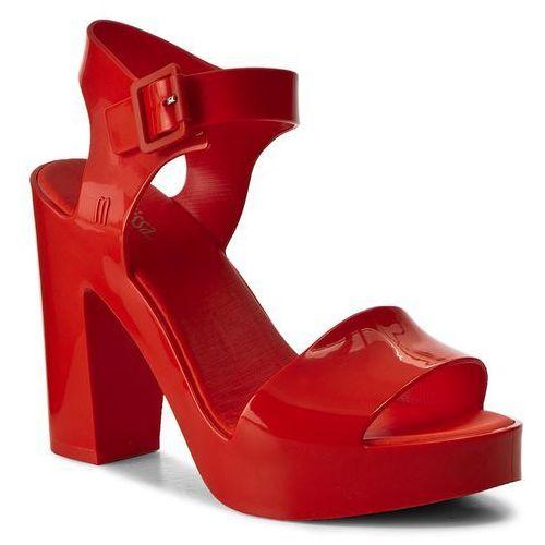 Sandały damskie, Sandały MELISSA - Mar Heel Ad 31951 Red 01698