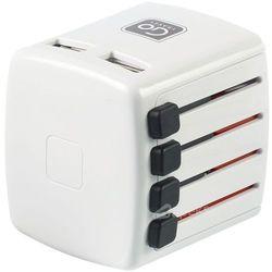 Go Travel DG/410 ładowarka 2 x USB - Europa - Świat