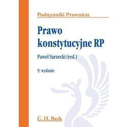 Prawo konstytucyjne RP - Zamów teraz bezpośrednio od wydawcy (opr. miękka)