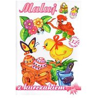 Książki dla dzieci, Maluj z kurczakiem - Praca zbiorowa