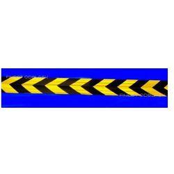 Taśma Odblaskowa ostrzegawcza 3M Scotchlite™ pasy ukośne żółto-czarne