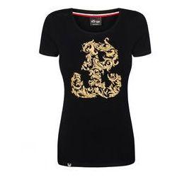 koszulka Surge Kotwica damska czarna (K.SUR.421)