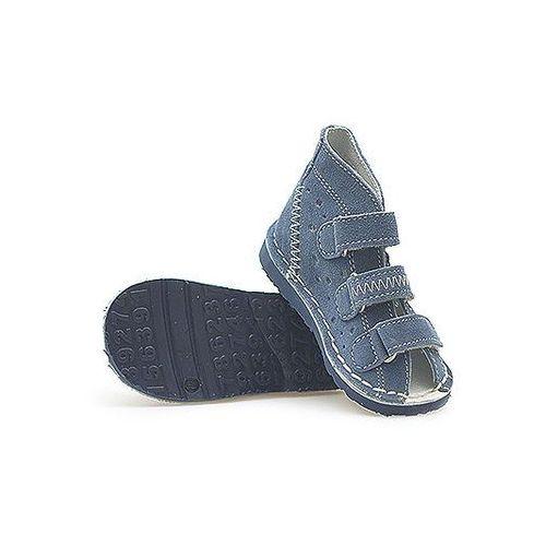 Buty profilaktyczne dla dzieci, Obuwie rehabilitacyjno-profilaktyczne Danielki WZT105 Jeans