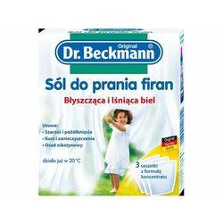 DR. BECKMANN Sól do prania firan w saszetkach (3szt.)