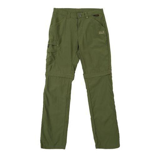 Spodnie dla dzieci, JACK WOLFSKIN Spodnie 'SAFARI ZIP OFF ' oliv