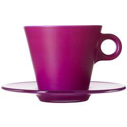 Filiżanka do kawy Cappuccino Ooh Magico Leonardo fioletowa (012271)