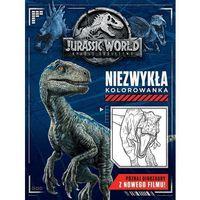Kolorowanki, Jurassic World 2. Niezwykła kolorowanka - Jacqui Butler