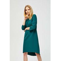 Zielona asymetryczna sukienka 8K39BL Oferta ważna tylko do 2023-09-14