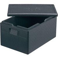 Kosze i pojemniki gastronomiczne, Pojemnik termoizolacyjny 685x485x260 mm | THERMO FUTURE BOX, 056203