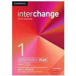 Interchange 1 Presentation Plus USB - Richards Jack C. DARMOWA DOSTAWA KIOSK RUCHU