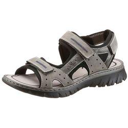 Sandały Rieker 26757 - Popielate 40